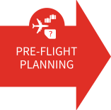 Selected pre-flight planning