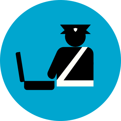 Baggage Customs Clearance Icon